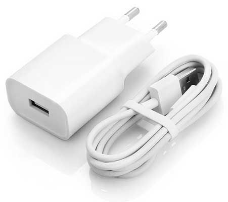 Xiaomi Charger Power Adapter + Type C Kabel für 5,99€