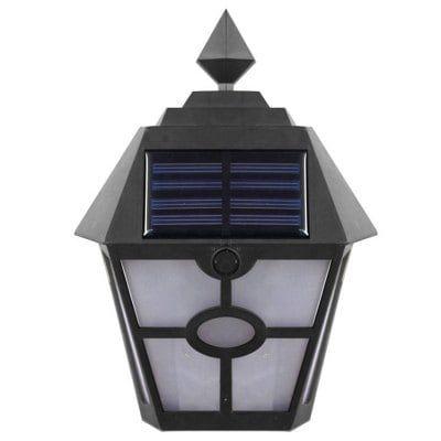 BRELONG BG 054   Solar LED Wandleuchte für 10,75€