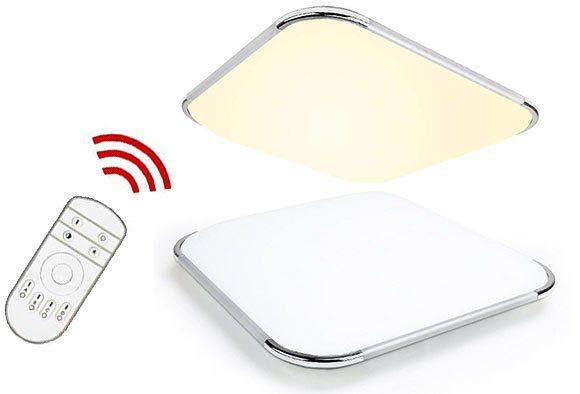 30% Rabatt auf LED Deckenleuchten (teilweise mit RGB & Fernbedienung) ab 11,19€