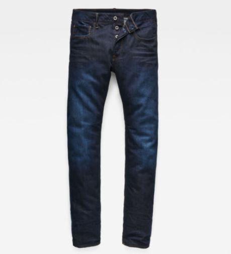 G Star Raw 3301   blaue Herren Deconstructed Tapered Jeans für je 49,95€ (statt 73€)