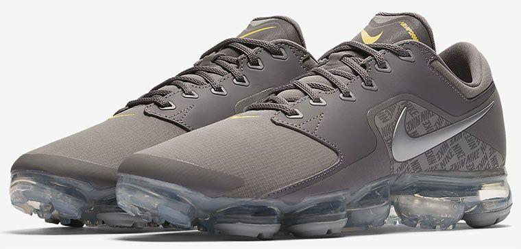 Nike Air VaporMax Gunsmoke/Amarillo/Metallic Silver Herren Sneaker für 121,57€ (statt 209€)