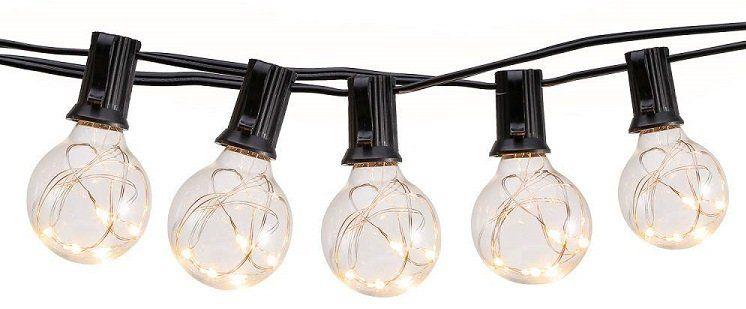 Lichterkette mit 10 m Länge und 30 LED Birnen für 27,59€ (statt 46€)