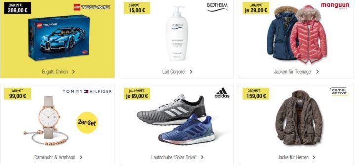 GALERIA Kaufhof 6 Tage Rennen bis zu 15€ sparen + Tagesangebote z.B. camel active Herren Jacken für 159€ (statt 245€)