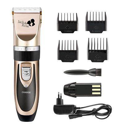Jack & Rose Elektrische Haarschneidemaschine mit 4 Trimmaufsätzen für 14,99€ (statt 25€)