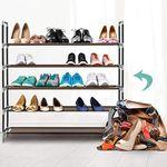 Flexibles Schuhregal mit 5 Ebenen für 11,99€ (statt 14€)