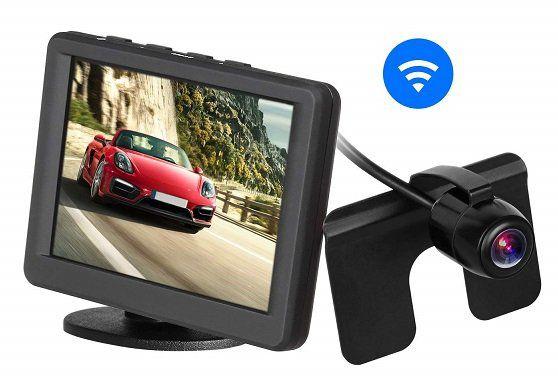 AUTO VOX Rückfahrkamera mit 3.5 LCD Monitor für 55,99€ (statt 70€)
