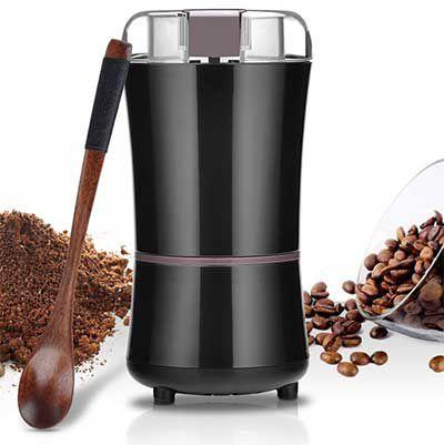Elektrische Kaffeemühle mit 150 Watt für 17,99€ (statt 30€)