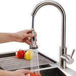 Homelody SD8025 – 360° drehbar Wasserhahn mit ausziehbarer Brause für 39,99€ (statt 75€)