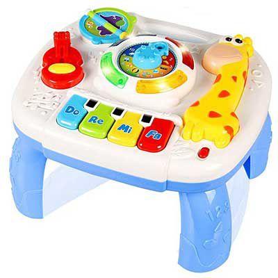 Lerntisch für Babies mit Musik & Beleuchtung für 19,79€