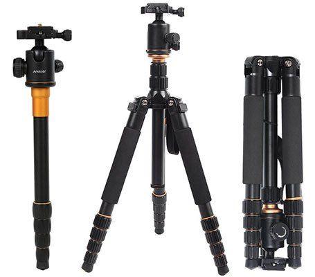 Andoer Q 666 Pro   Kamera Stativ für 39,19€ (statt 56€)