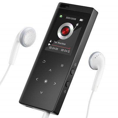 Victsing MP3 Player mit 8 GB Speicher & Bluetooth 4.0 für 20,15€ (statt 32€)