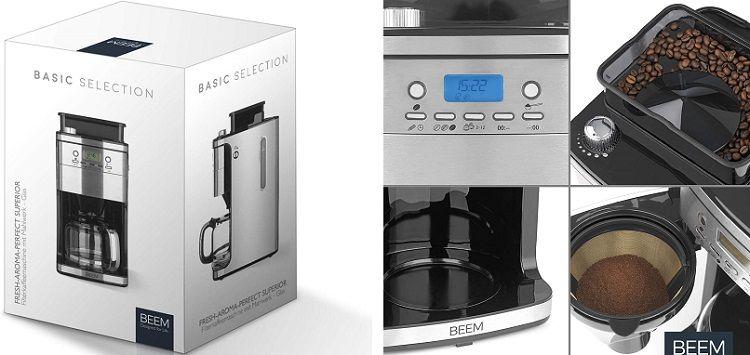 BEEM Fresh Aroma Perfect Superior Kaffeemaschine (B Ware) für 89,90€ (statt neu 140€)