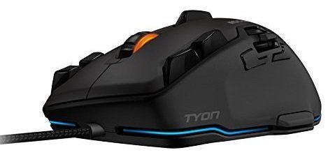 ROCCAT Tyon Gaming Maus mit 8.200 dpi und 14 Tasten ab 48,95€ (statt 81€)