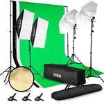 ESDDI PS005 – Fotostudio-Set mit Softboxen, Greenscreen & mehr für 89,86€ (statt 130€)