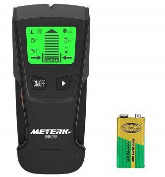 Meterk Metall  und Holzdetektor für Wände für 13,99€ (statt 20€)