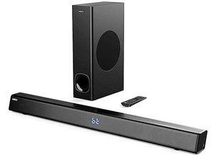 Abox FS22CS   2.1 Bluetooth Soundbar (120W) mit Subwoofer für 69,90€ (statt 110€)