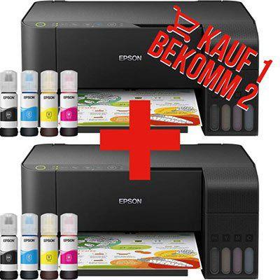 2x Epson EcoTank ET 2710 Tintenstrahl Multifunktionsgerät für 299€ (statt 576€)