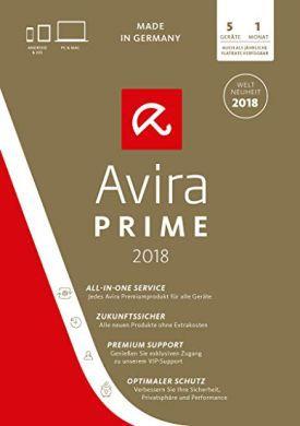 3 Monate Avira Prime Virenschutz gratis