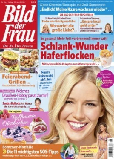 Top! Bild der Frau Jahresabo für 83,20€ + 75€ BestChoice Gutschein