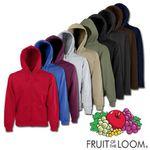 Fruit of the Loom Classic Hooded Sweatjacke mit Reißverschluss für 9,99€ (statt 17€)