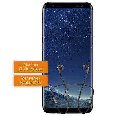 Samsung Galaxy S8 + JABRA Elite 45€ für 49€ + Vodafone Smart Surf mit 2GB für 16,99€ mtl.