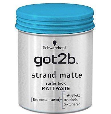 6er Pack Schwarzkopf Got2b Strand Matte ab 12,40€ (statt 18€)