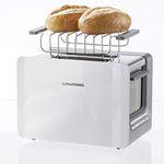 Grundig TA 7280 Toaster in Weiß für 26,99€ (statt 35€)