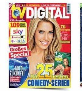 TV Zeitschriften im Jahresabo mit bis zu 60€ Prämie