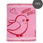 """Adelheid Babydecke """"Kleiner Spatz"""" und """"Naturbursche"""" je 70 cm x 90 cm für je 6,12€ (statt 25€)"""