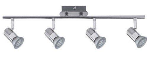 Nice Price LED Strahler 4 x 3,5W GU10 inkl. Leuchtmittel für 19,99€(statt 33€)