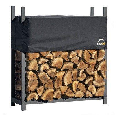 ShelterLogic Kaminholzregal 120 cm mit Cover für 79,99€ (statt 99€)