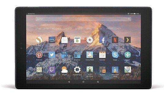 Amazon Fire HD 10 (2017) Full HD Tablet für 74,99€ (statt 115€)