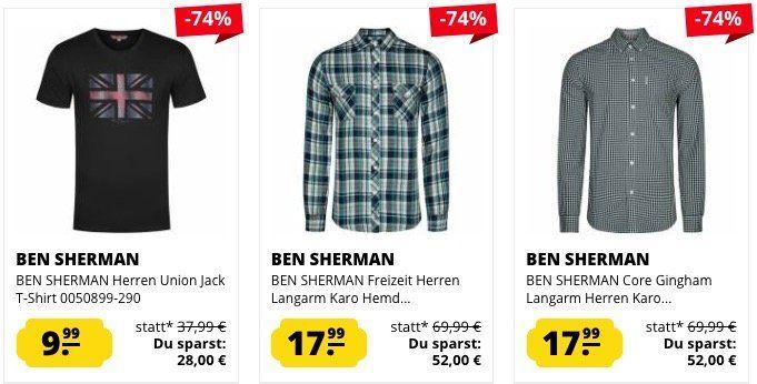 Ben Sherman Sale bei SportSpar   z.B. Zehentrenner für 5,99€ (statt 10€)