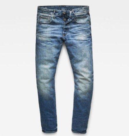 G Star RAW 3301 Tapered Herren Denim Jeans für 49,95€ (statt 65€)