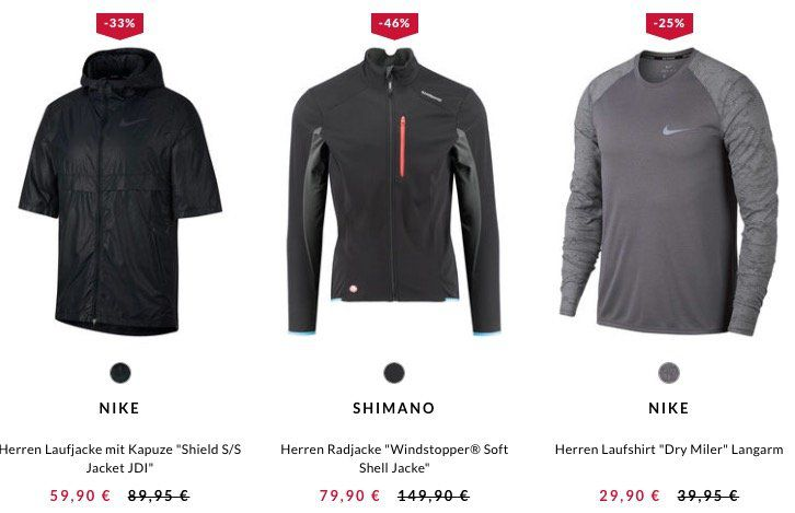 10% Rabatt auf sportliche Herbst Outfits bei engelhorn   z.B. Under Armour Threadborne Streaker Run Laufshirt für 22,41€ (statt 27€)
