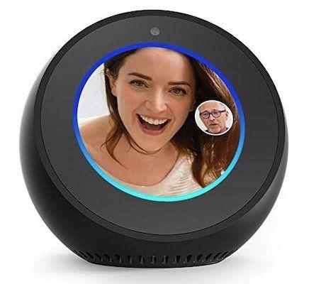 Amazon Echo Spot Sprachgesteuerter 🔈Lautsprecher mit Bildschirm für 99,99€(statt 118€)