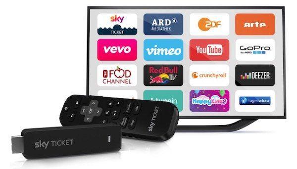 Sky Ticket TV Stick für 29,99€ + gratis Paket dazu (z.B. 3 Monate Entertainment)