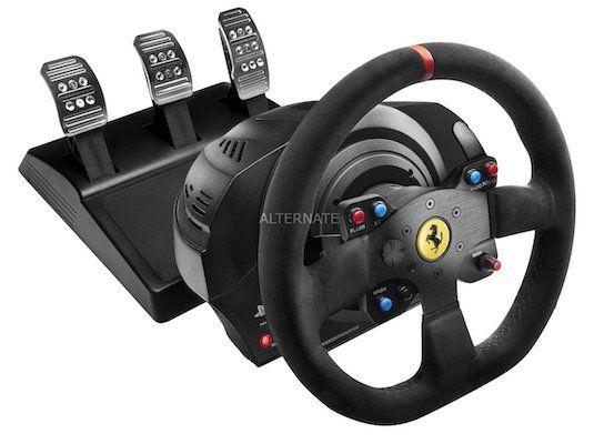 Thrustmaster T300 Ferrari Integral Racing Lenkrad für 344,99€ (statt 389€)