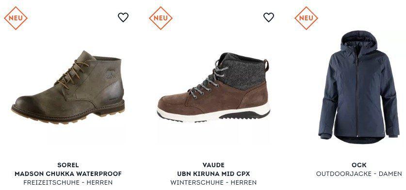 20€ Rabatt auf ausgewählte Artikel bei SportScheck bis Mitternacht   z.B. adidas Kapuzenjacke für 83,90€ (statt 150€)