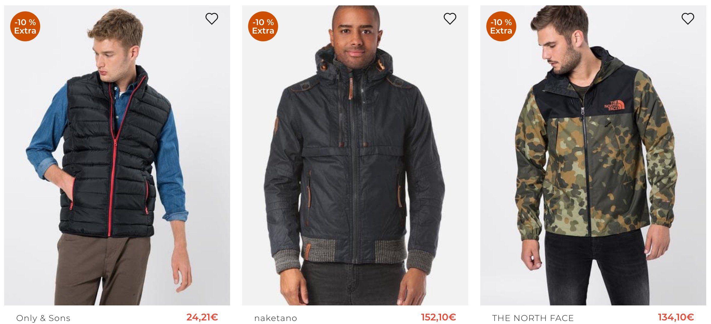 About You Sale + bis zu  20% Extra   günstige Jacken von Naketano oder Schmuddelwedda