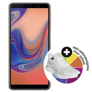 Samsung Galaxy A7 (2018) + 120€ adidas.de Gutschein für 4,95€ + Telekom Flat von Congstar mit 3GB für 20€ mtl.