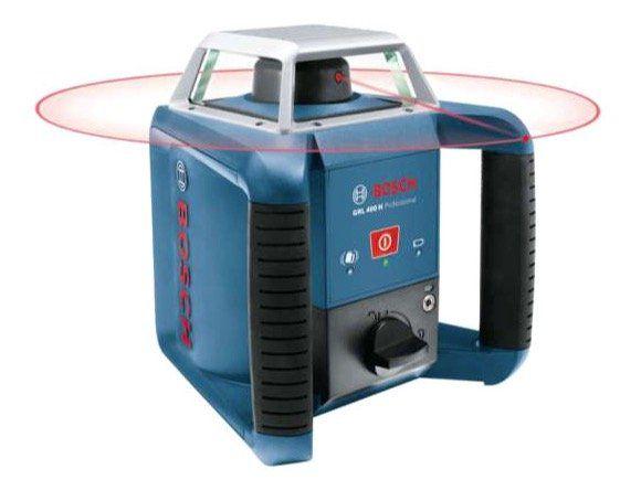 Bosch GRL 400 H Professional Rotationslaser für 350,10€ (statt 412€)   B Ware