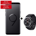 Knaller! Samsung Galaxy S9+ inkl. Gear S3 frontier 49€ + Telekom Flat 2GB für 26,99€ mtl.