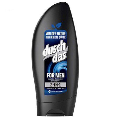Vorbei! 6er Pack Duschdas For Men 2 in 1 Duschgel & Shampoo für 3,15€   Plus Produkt
