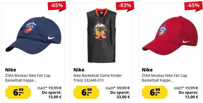 Tipp: NBA Sale bei SportSpar + 10% Gutschein + VSK frei ab 50€