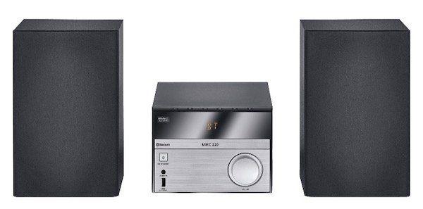 Ausverkauft! Mac Audio MMC 220 Kompaktanlage (Bluetooth, USB, CD) für 39€ (statt 77€)