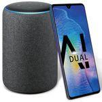 Knaller! Huawei Mate 20 für 49,99€ + gratis Amazon Echo Plus + o2 Allnet-Flat mit 2GB LTE für 32,99€ mtl.