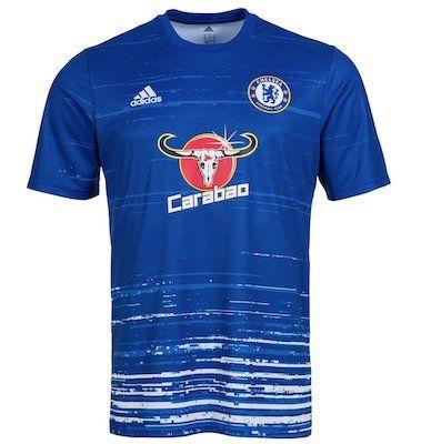 adidas FC Chelsea London Herren Pre Match Trikot für 11,72€   nur XS und S