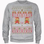 Super Mario Ho Ho Ho It's A Me Weihnachtspullover für 19,99€ (statt 32€)
