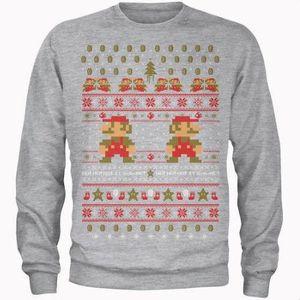 Super Mario Ho Ho Ho Its A Me Weihnachtspullover für 20,99€ (statt 32€)